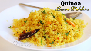 lemon quinoa