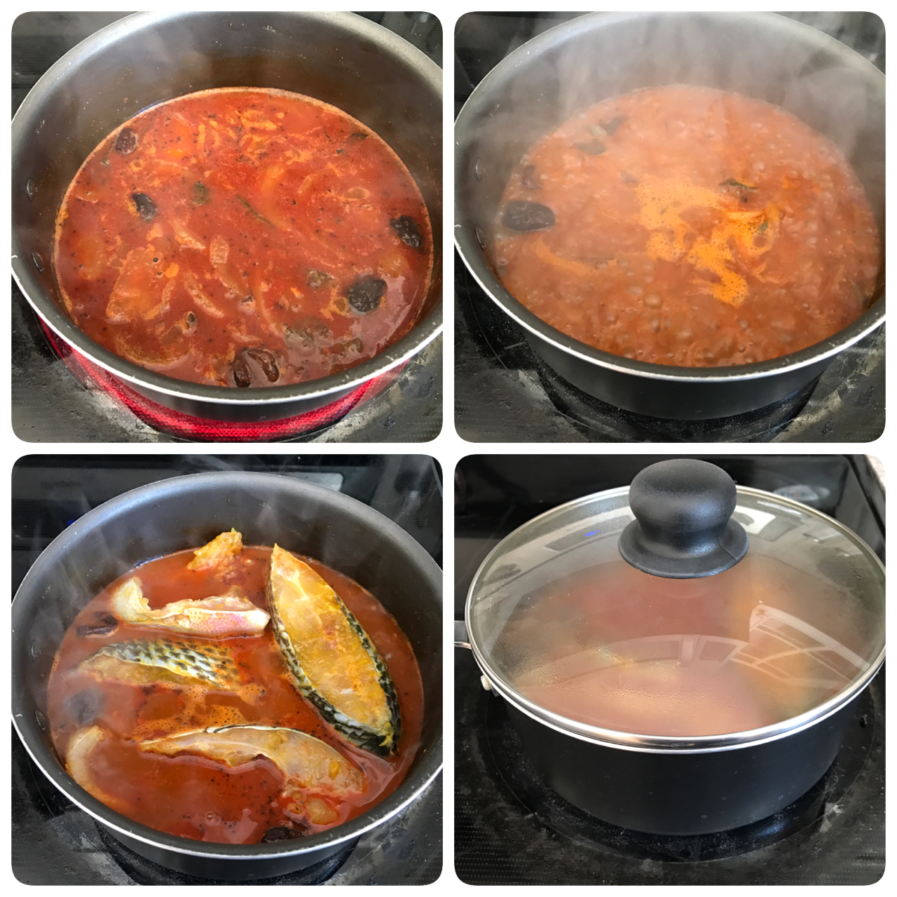 how to cook fish curry with coconut milk