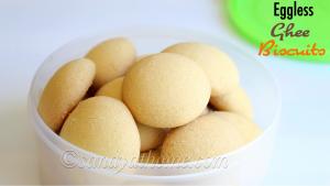 eggless ghee cookies