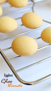 eggless ghee biscuits