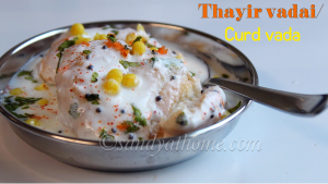 south indian curd vada