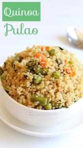 quinoa pulao