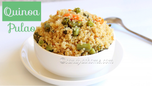 vegetable quinoa pulao