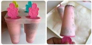 how to make rose falooda popsicle