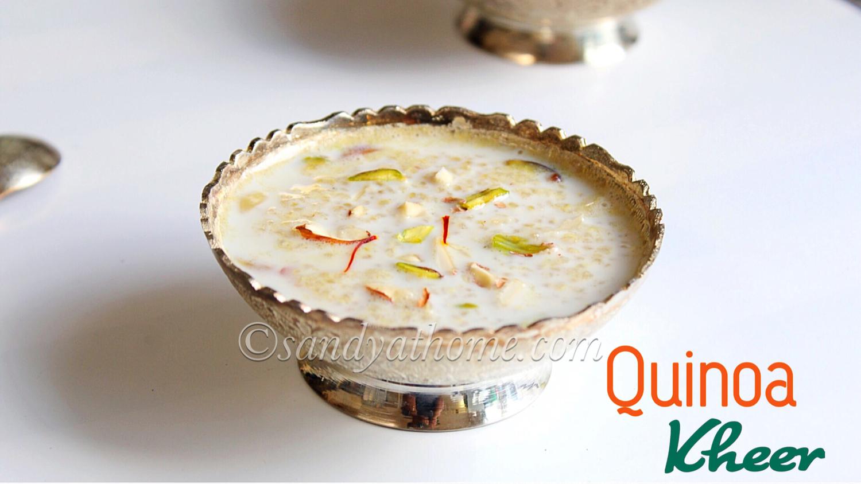 quinoa kheer