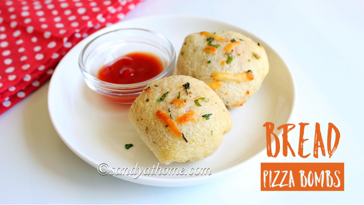 bread pizza bombs, bread pizza, pizza bomb, instant pizza bomb