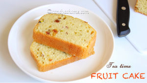 dried fruit cake recipe, fruit cake, tea time fruit cake