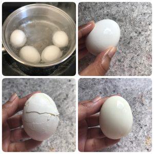 boil egg for egg kurma