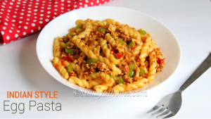 indian style egg pasta