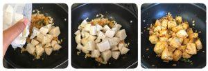 toss chopped idli in temperd podi mixture for podi idli