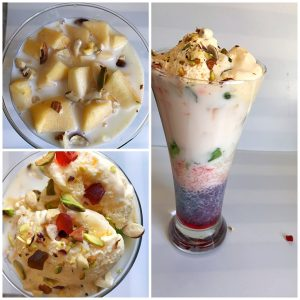 add ice cream for royal falooda