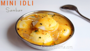 sambar idli recipe