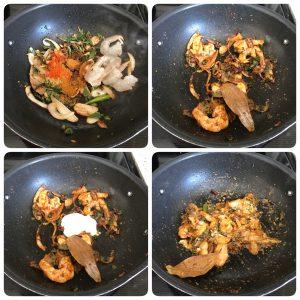 masala for shrimp biryani