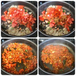 saute tomato