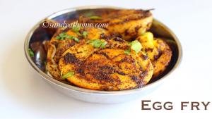 egg masala fry, egg fry