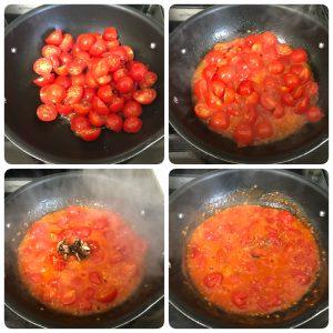 saute tomatoes