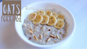 oats porridge, porridge, oats