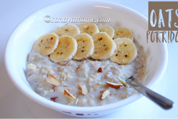 oats porridge recipe, porridge