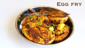 spicy egg fry, egg fry