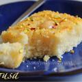 basbousa, semolina cake