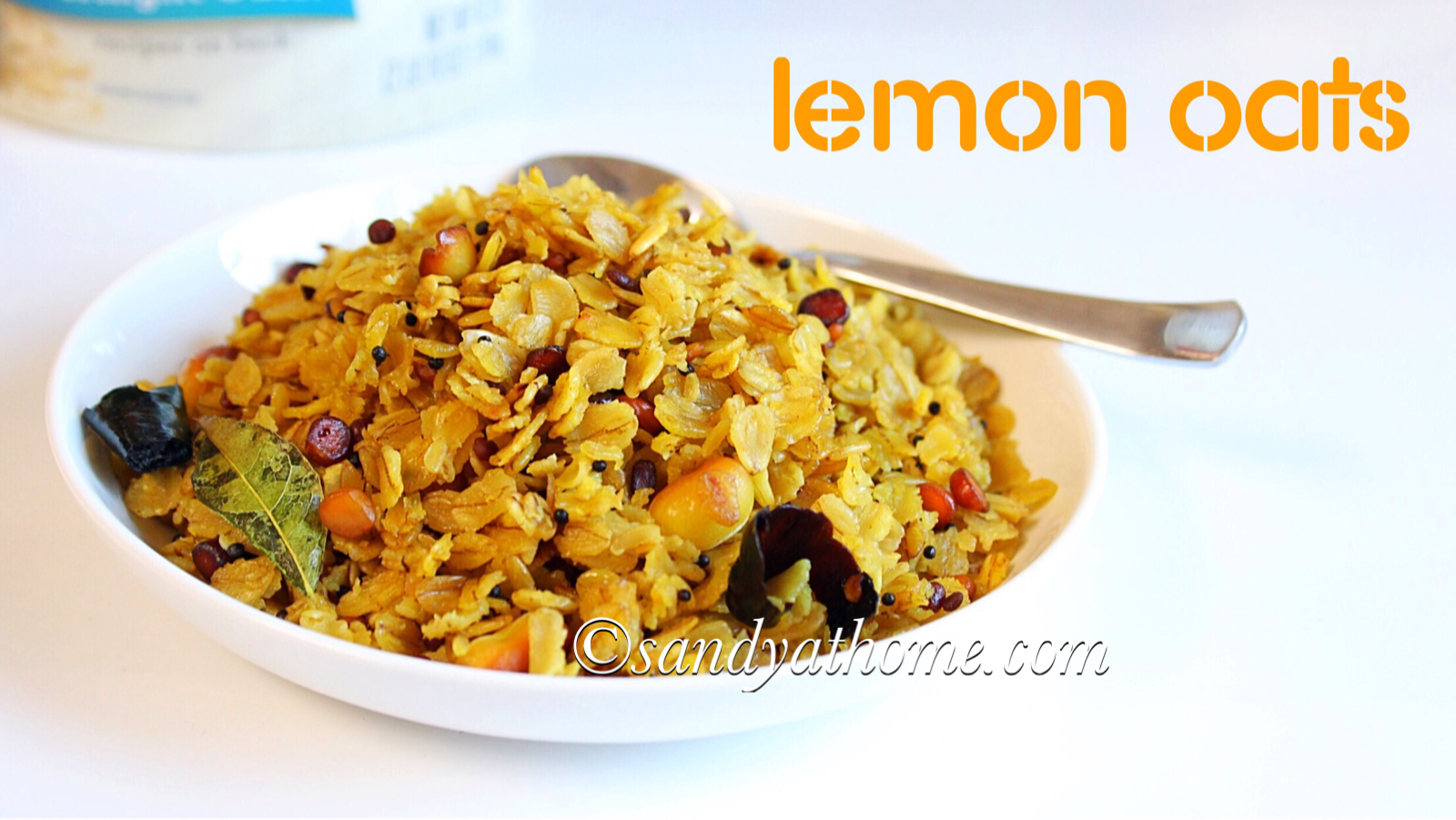lemon oats recipe, indian oats