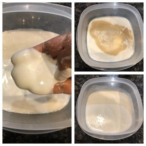 Add yeat mixture to appam batter and mix well