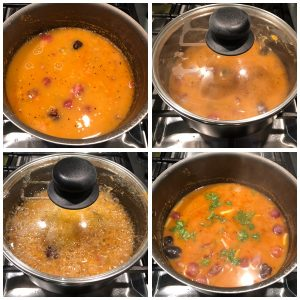Mix well and boil it well