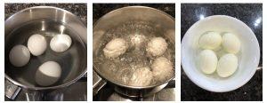Hard boil eggs