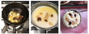 Add the tempering over sweet pongal