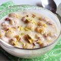 makhane ki kheer, makhane ki kheer recipe
