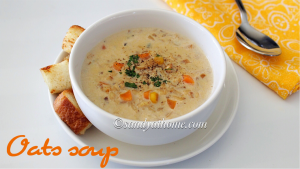 oats soup recipe, oats vegetable soup recipe