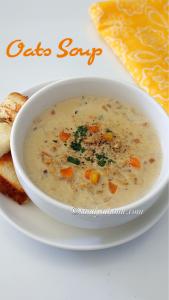 vegetable soup, soup, oats soup