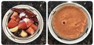 Grind tomato chutney