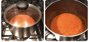 Cook the chutney