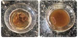 Extract tamarind juice