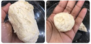 Badusha dough is ready