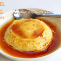 caramel custard recipe, pudding