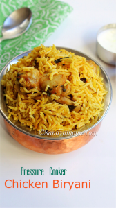 biryani recipe, chicken biryani