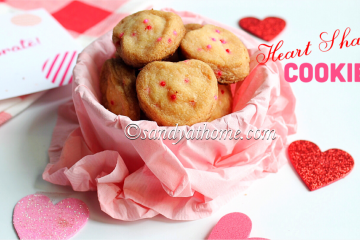 heart shaped cookies recipe