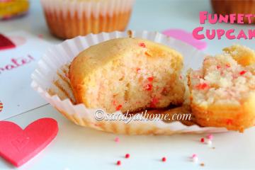 sprinkle cupcakes, cupcake