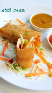 cheese jini dosa