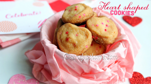cookie, heart shaped cookies recipe