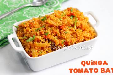 quinoa tomato bath recipe