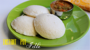 instant pot idli recipe