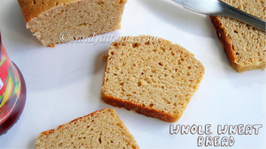 atta bread recipe, whole wheat bread