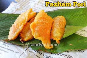 banana fritter, Pazham pori