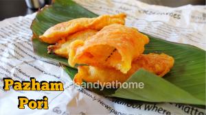 Ethakka appam, banana fritter