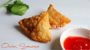 onion samosa recipe, samosa