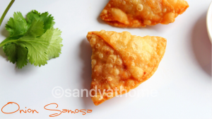 samosa recipe, onion samosa recipe