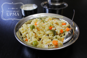 Proso millet upma, Millet recipes